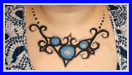 Necklace Body Art Design