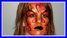 Tribal Queen Face Painting